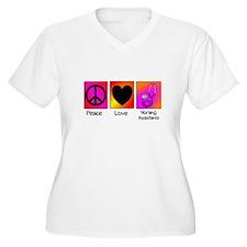 peace love nursing assistants Plus Size T-Shirt