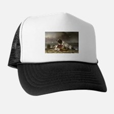 Painting of Landseer Rescue Trucker Hat