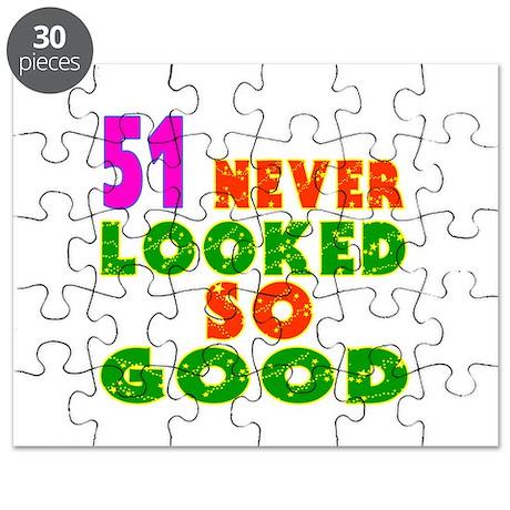 51 Birthday Designs Puzzle