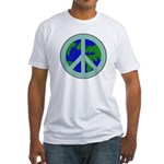 Earth Peace Sign T-shirt (Made in the US