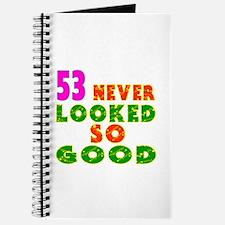 53 Birthday Designs Journal