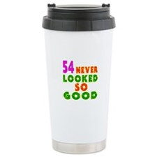 54 Birthday Designs Travel Mug