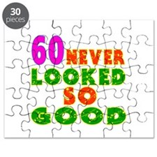 60 Birthday Designs Puzzle