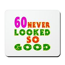 60 Birthday Designs Mousepad