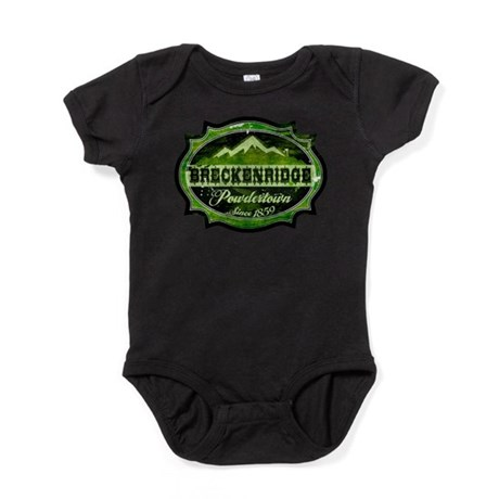 Breckenridge Powdertown Spring.png Baby Bodysuit