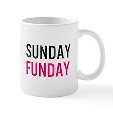 Sunday Funday (black / pink) Mug