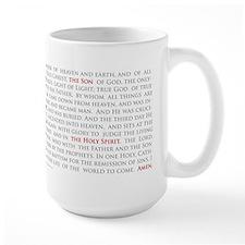 Orthodox Christian Nicene Creed Lg Mug