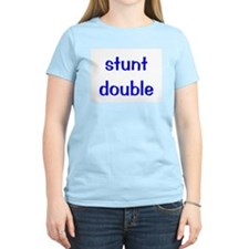 Stunt double Women's Pink T-Shirt