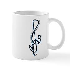 Music note, love, peace Mug