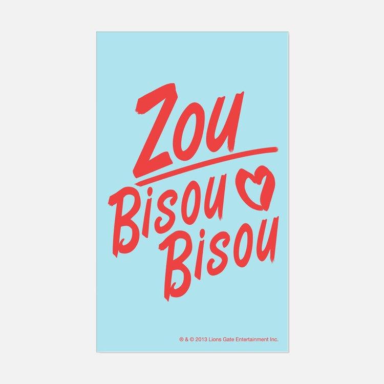 Zou Bisou Bisou Decal