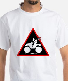 Jeeping DUDE Danger Signs-1w T-Shirt