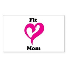 Pink Fit mom Decal