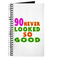 90 Birthday Designs Journal