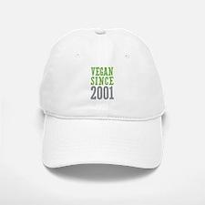 Vegan Since 2001 Baseball Baseball Cap