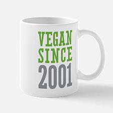 Vegan Since 2001 Mug