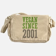 Vegan Since 2001 Messenger Bag