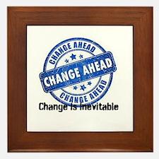 Change Is Inevitable Framed Tile