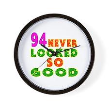 94 Birthday Designs Wall Clock