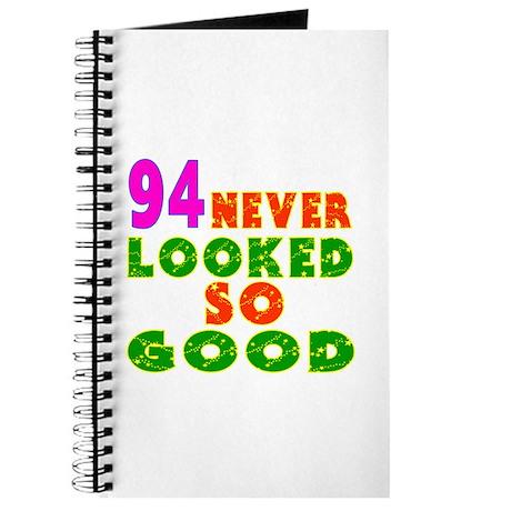 94 Birthday Designs Journal