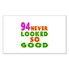 94 Birthday Designs Decal