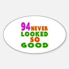 94 Birthday Designs Decal