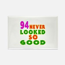 94 Birthday Designs Rectangle Magnet