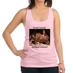 Brush Rabbit Racerback Tank Top