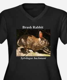 Brush Rabbit Plus Size T-Shirt