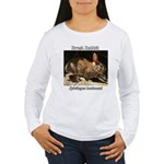 Brush Rabbit Long Sleeve T-Shirt