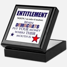 Entitlement Keepsake Box