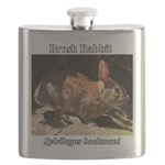 Brush Rabbit Flask
