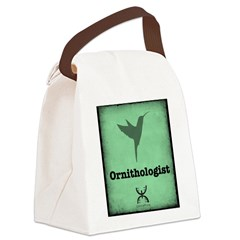 Ornithologist Canvas Lunch Bag