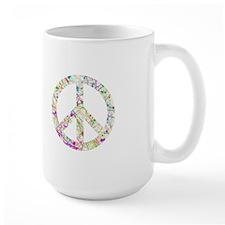 Graffiti Peace Sign Mug