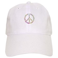 Graffiti Peace Sign Baseball Baseball Baseball Cap