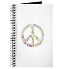 Graffiti Peace Sign Journal