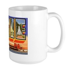 Erie Pennsylvania Greetings Mug
