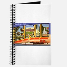 Erie Pennsylvania Greetings Journal