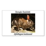 Brush Rabbit Sticker