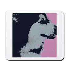 Malamute Dog Pop Art Mousepad