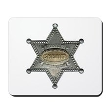 Junior Sheriff Mousepad