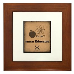 Science Educator Framed Tile