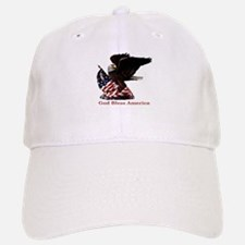 God Bless America Eagle Baseball Baseball Cap
