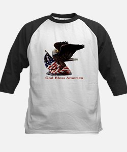 God Bless America Eagle Tee