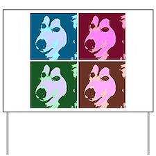 Malamute Dog Yard Sign