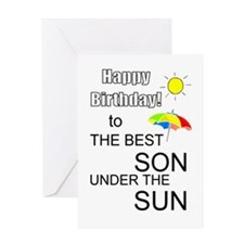 Best son Greeting Card