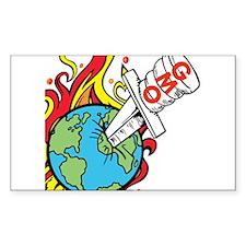 GMO Killing the World Decal