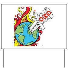 GMO Killing the World Yard Sign