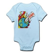 GMO Killing the World Infant Bodysuit
