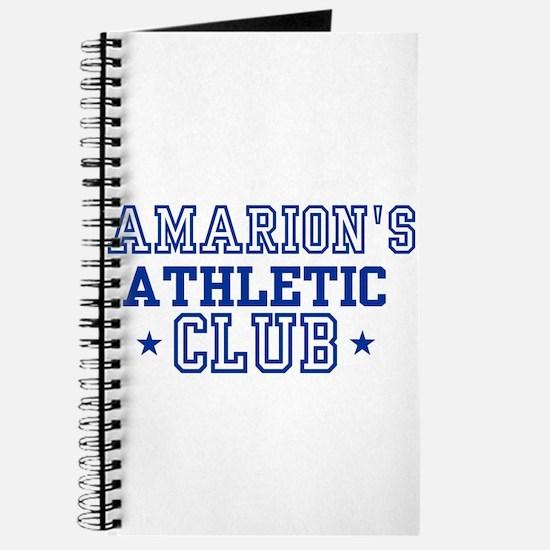 Amarion Journal