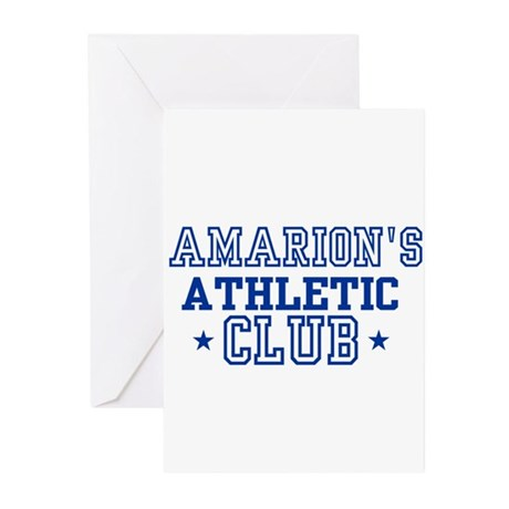 Amarion Greeting Cards (Pk of 10)